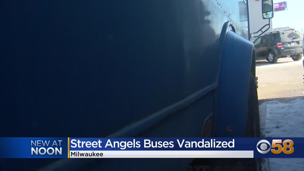 Catalytic converters stolen from Milwaukee Street Angels, an...