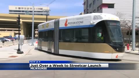 Just over a week to 'The Hop' streetcar launch
