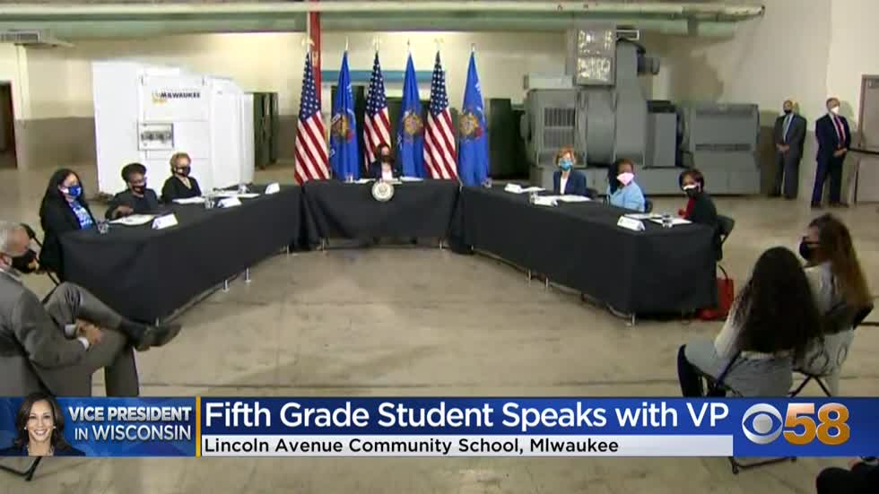 ' MPS fifth-grader shares experience of speaking at roundtable...