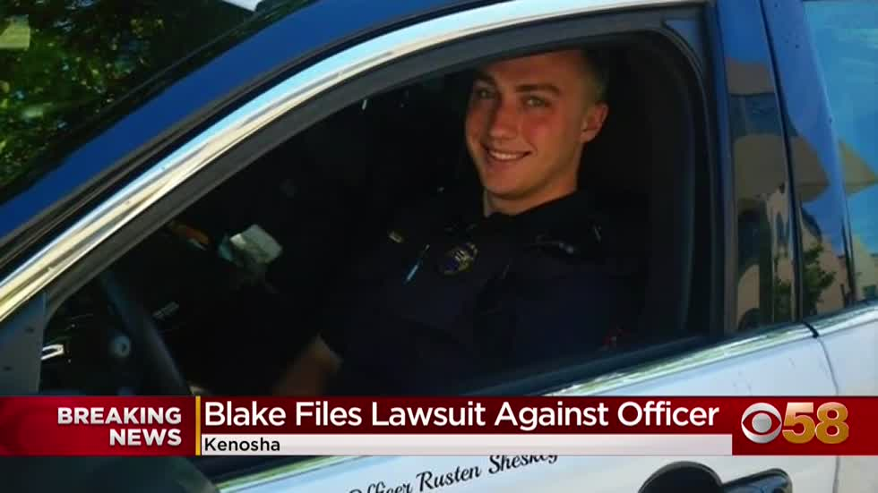Jacob Blake's attorneys file federal civil rights lawsuit against Kenosha Officer Rusten Sheskey