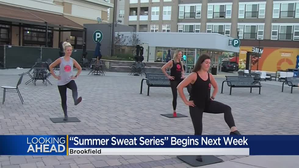 Summer Sweat Series returns to The Corners of Brookfield in August