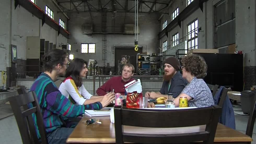 Art collective gives century-old Milwaukee electrical building a second life