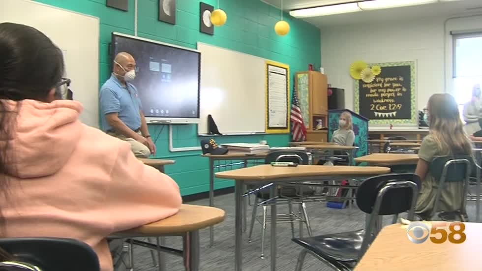 'Adopt a Vet' places veterans in schools to connect generations and honor service