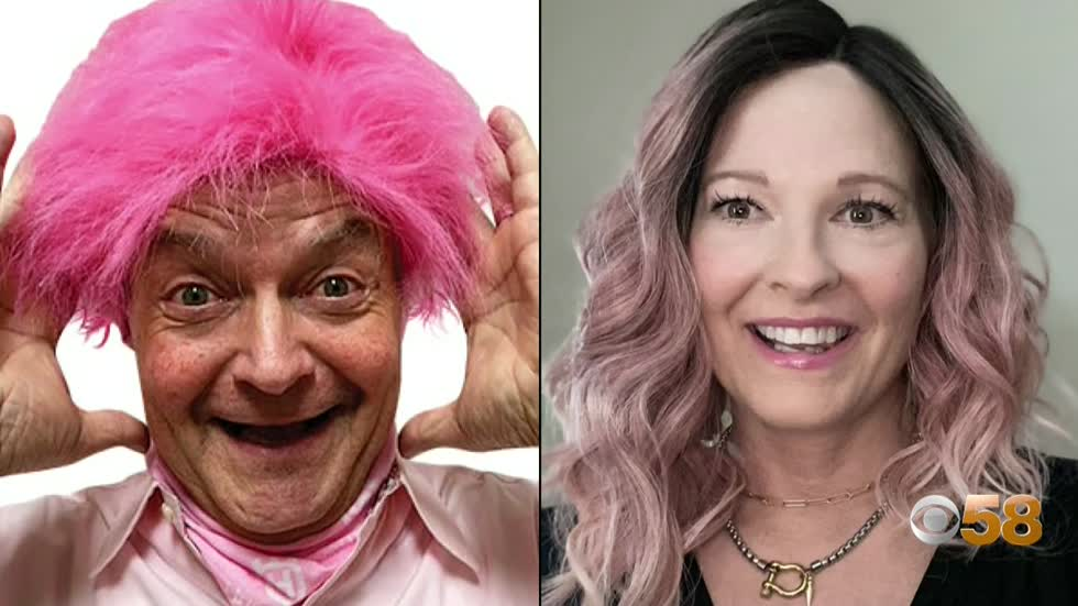 BigWigs Daven Claerbout & Georgette Retzer raise money for Komen Wisconsin