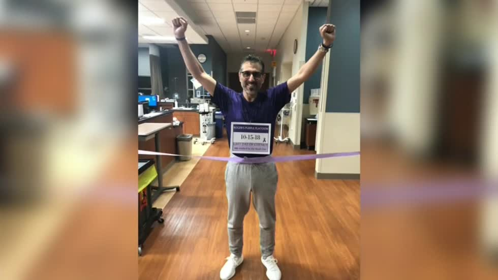 Jackie Caplinger raises pancreatic cancer awareness while caring for husband