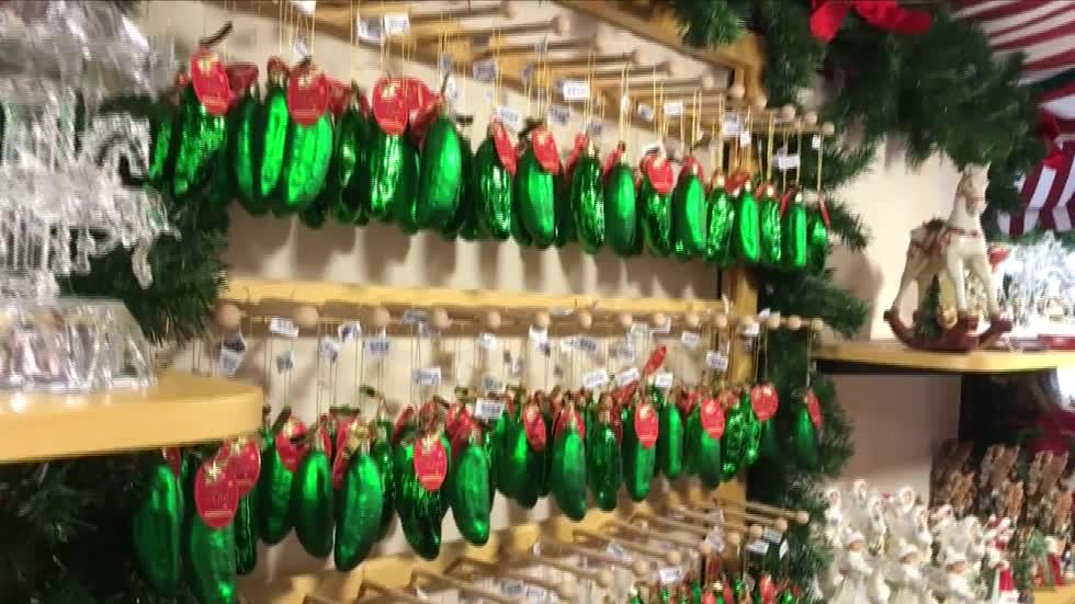 A curious Christmas tradition: The Christmas Pickle