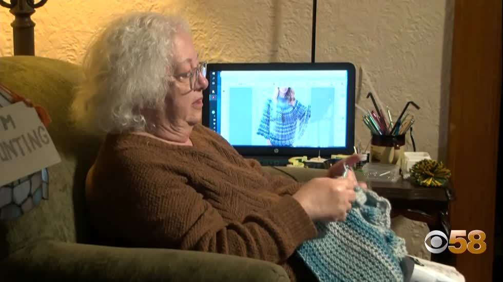 Milwaukee grandmother turns crochet creativity into small business