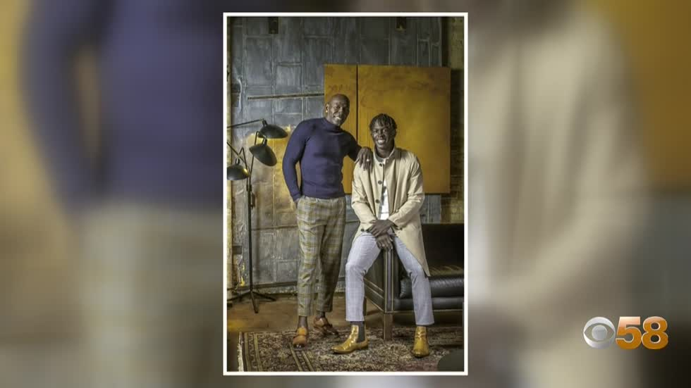 Donald Driver collaborates with teenage son on shoe line meant to empower young men and families