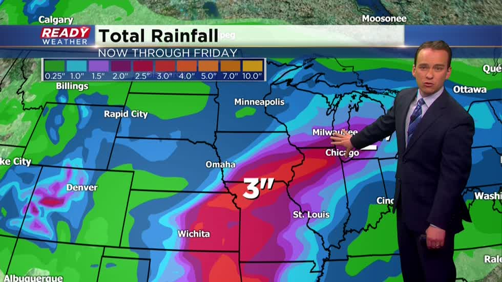 Multiple chances for soaking rain this week