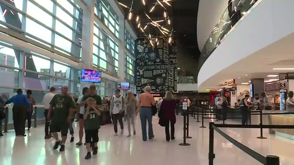 Behind the scenes look with Bucks President as Fiserv Forum celebrates six months open