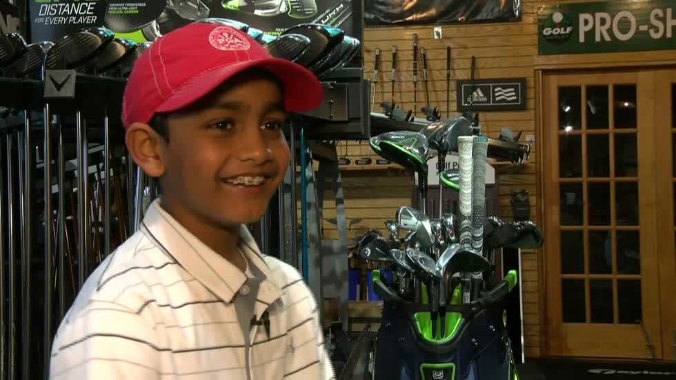 Young Milwaukee golf fan lives out course dreams at Augusta