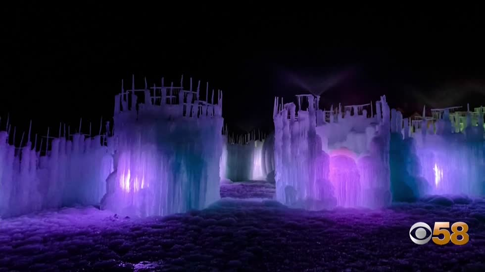 "Lake Geneva's popular ""Ice Castles"" plans to open Friday"