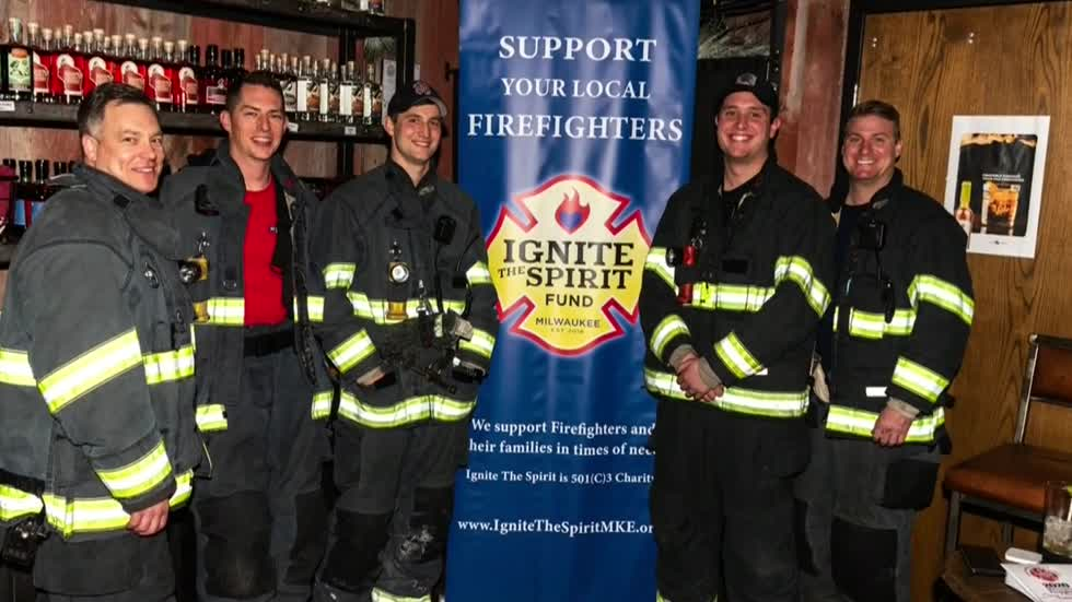 Igniting the spirit: Milwaukee firefighter's mission to help fellow firefighters inspires others