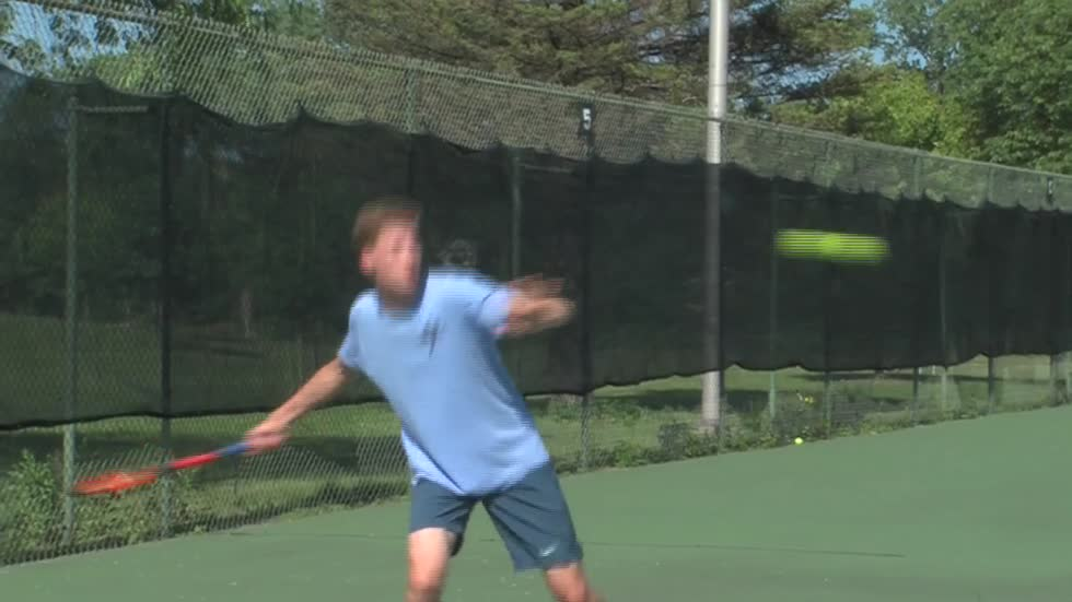 Four brothers take over tennis courts at Brookfield East High School