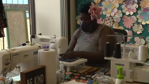 Local designers create fashionable facewear