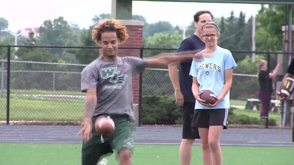 Passion for the game on display at Punt, Pass & Kick competition