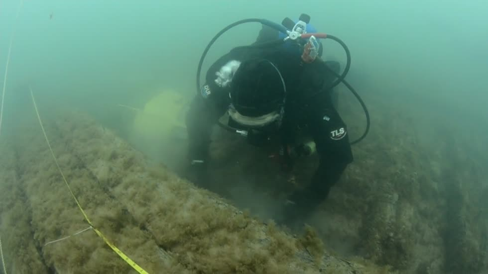 Effort to document and preserve Lake Michigan's many shipwrecks