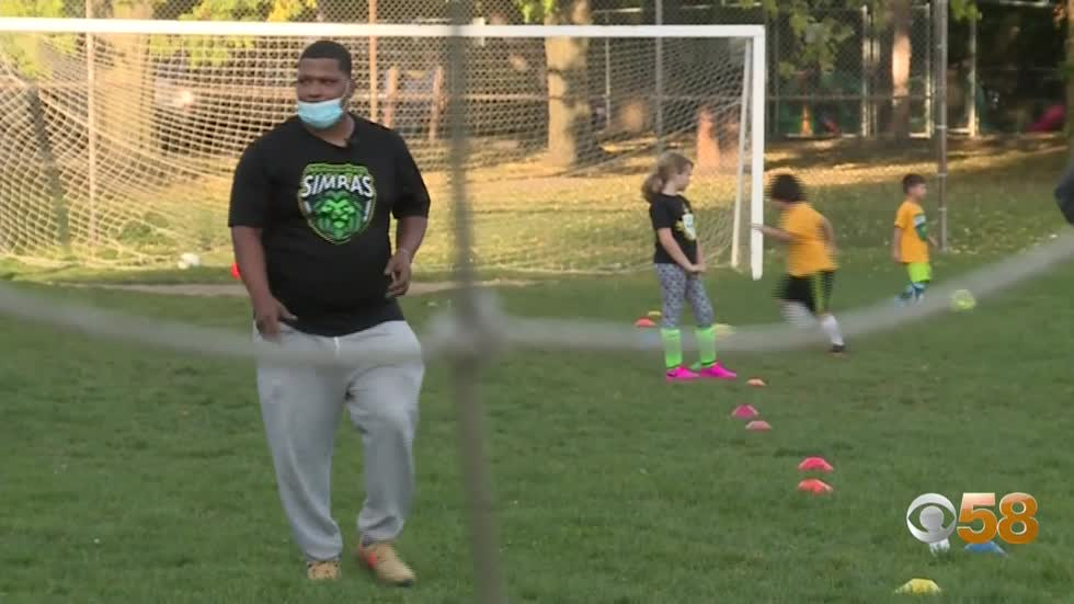 Former pro leads community soccer program with remarkable results...