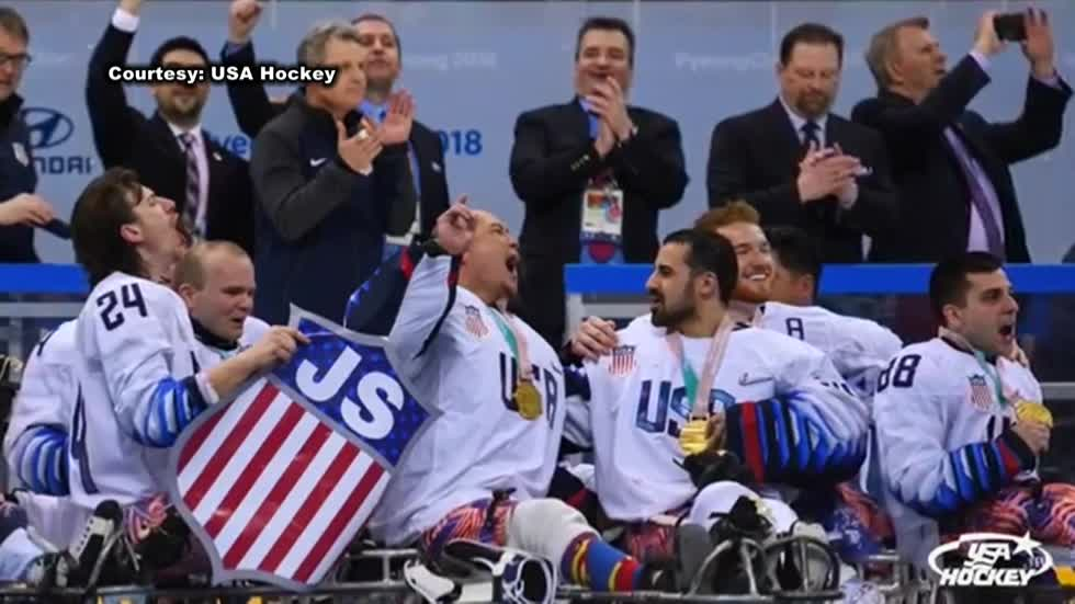 Wisconsin connections run deep for gold-winning U.S. paralympic hockey team