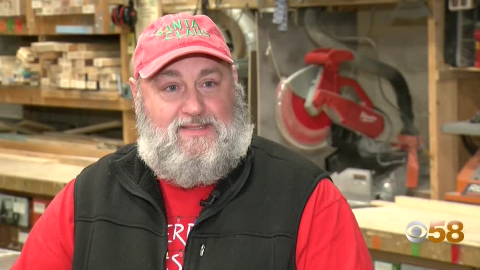 Local Santa's restored sleigh becomes symbol of hope during year of loss