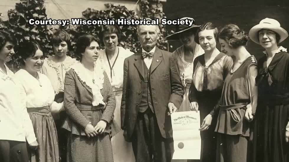 Mad dash to be the first: Wisconsin's role in women's suffrage movement