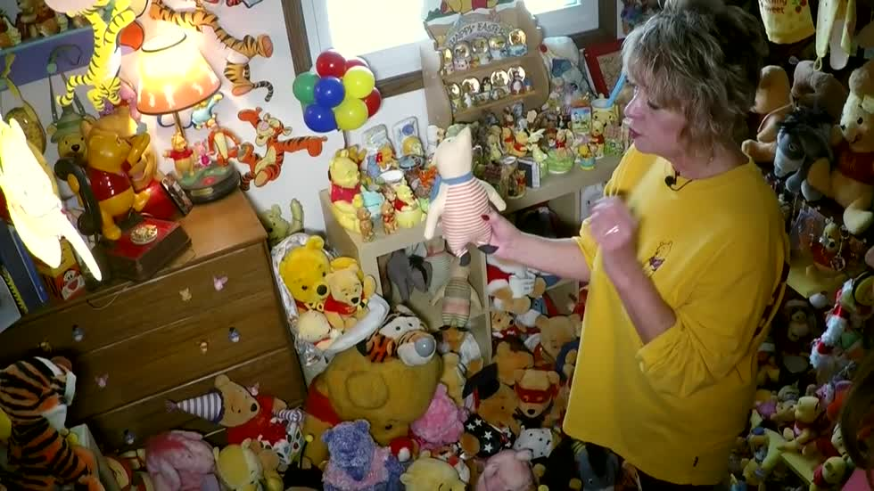 Waukesha woman shows off record setting collection of Winnie the Pooh merchandise