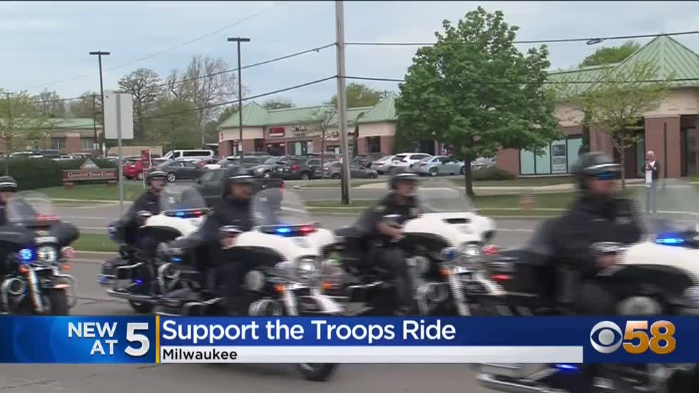 Milwaukee Armed Forces Week wraps up with 'Support the Troops...