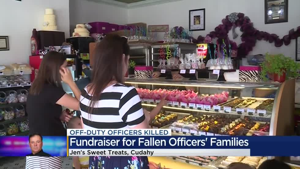 Jen's Sweet Treats holds fundraiser for fallen officers' families