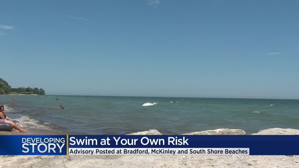 Milwaukee's Lake Michigan beaches post 'swim at your own risk' warnings