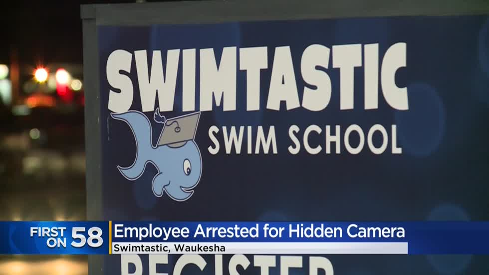 21-year-old swim school instructor fired, turned over to police after discovery of hidden camera