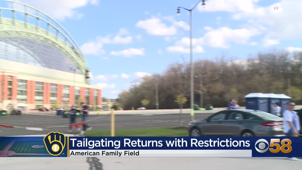 Tailgating is back for Brewers' fans, with health rules in...