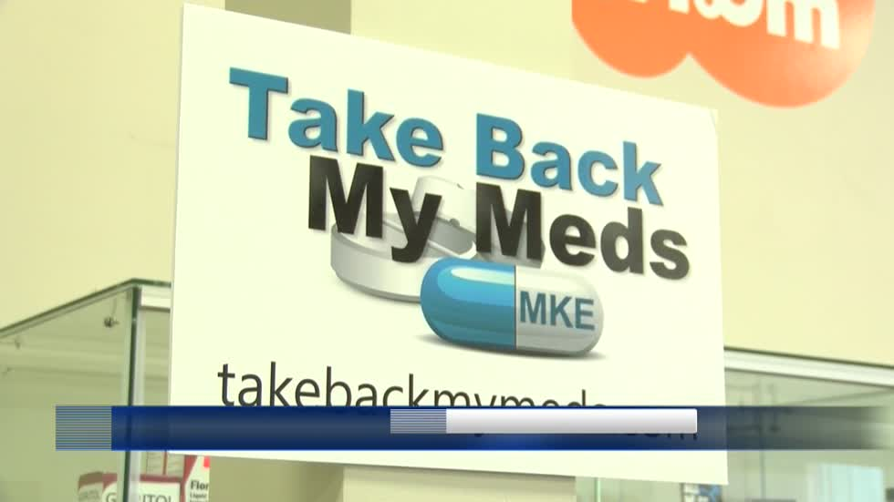 Take Back My Meds campaign urges people to safely dispose of unused medications