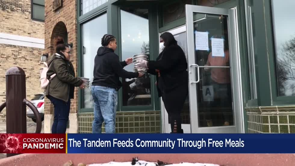 Milwaukee's The Tandem restaurant gives away hundreds of free meals daily during COVID-19 pandemic