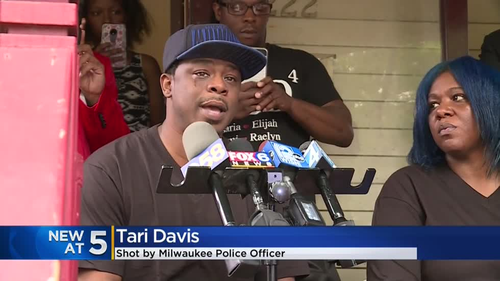 Bystander shot by Milwaukee police officer speaks out