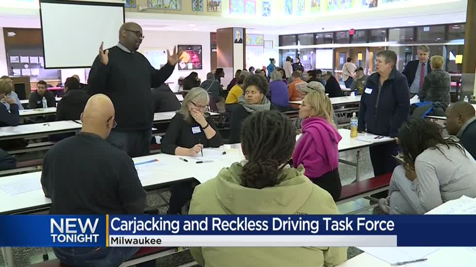 Community members brainstorm ideas to end reckless driving in Milwaukee County
