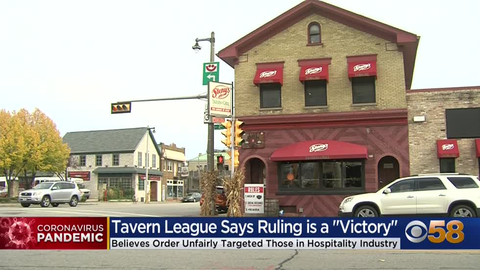 'This whole thing is insane': Tavern League, bar owners react to judge striking down state's 25% capacity limit