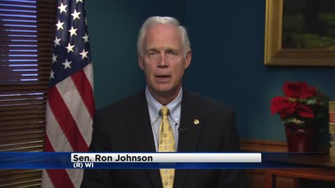 "Sen. Ron Johnson announces ""yes"" vote on tax bill"