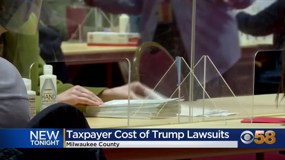Trump campaign's legal bills cost Milwaukee County taxpayers $120K