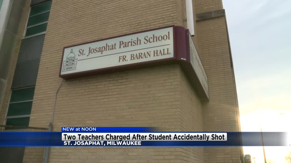 Two women charged in connection with shooting at St. Josaphat Parish School