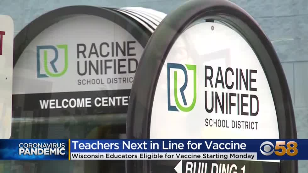 Teachers in Milwaukee, Racine prepare to get COVID-19 vaccine...