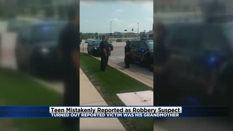Wauwatosa Police detain black teen mistakenly reported as robbery suspect, 'victim' was grandmother