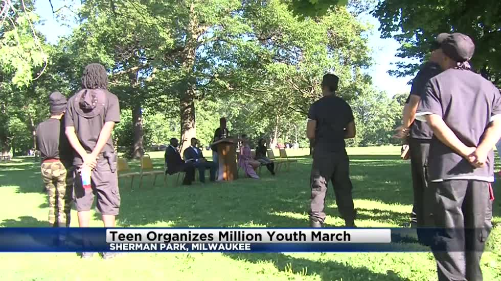 Teen organizes million youth march in Sherman Park