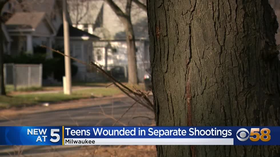 Violent weekend leaves pregnant teen, 13-year-old boy shot in...
