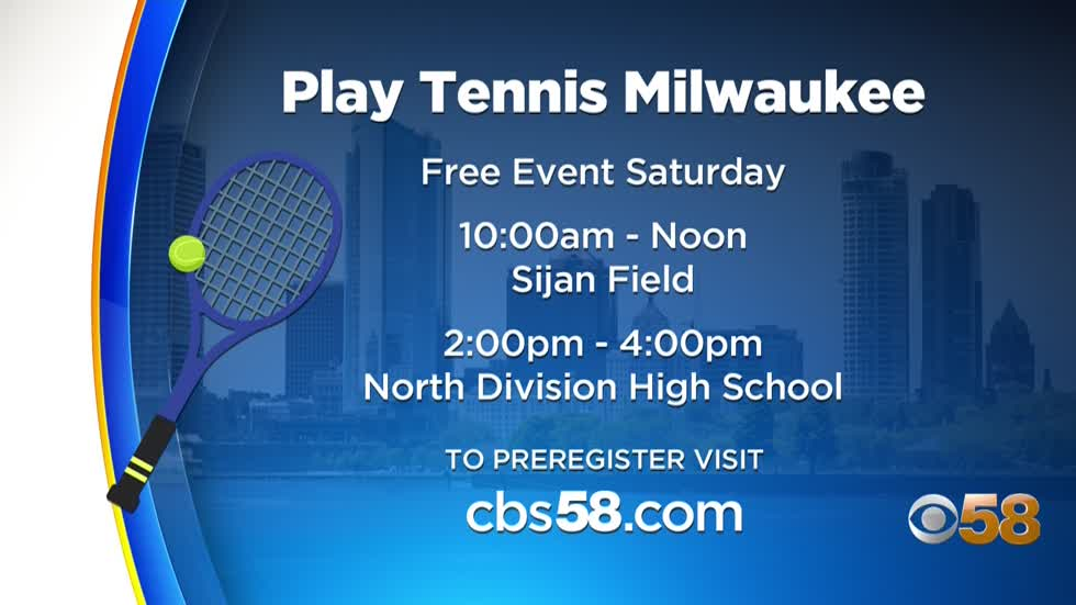 Give it a shot.  Try the game of tennis out for free this Saturday.