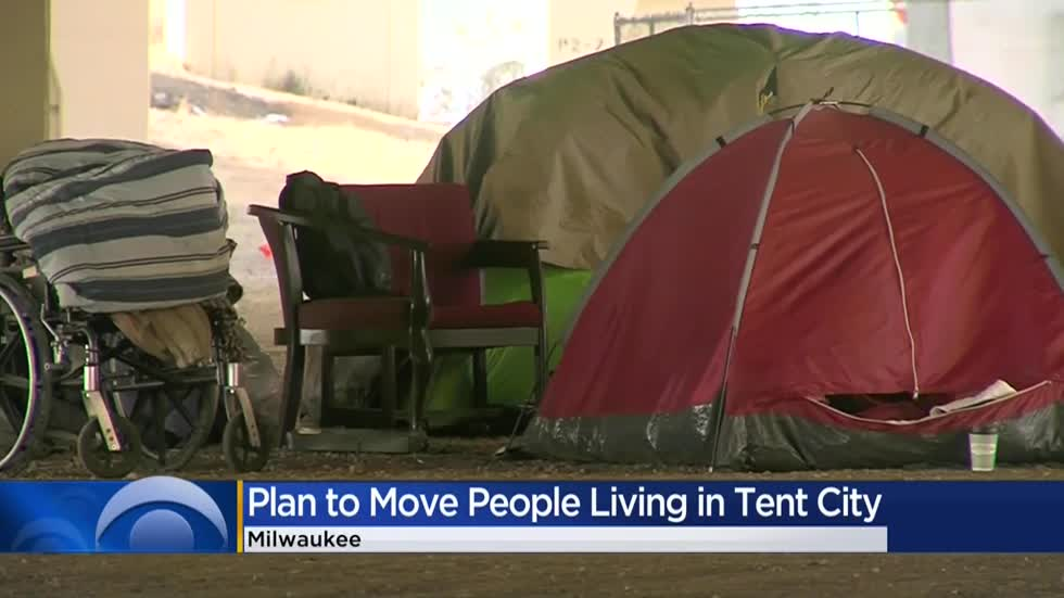 Milwaukee County leaders say they can find housing for all of 'Tent City' before eviction