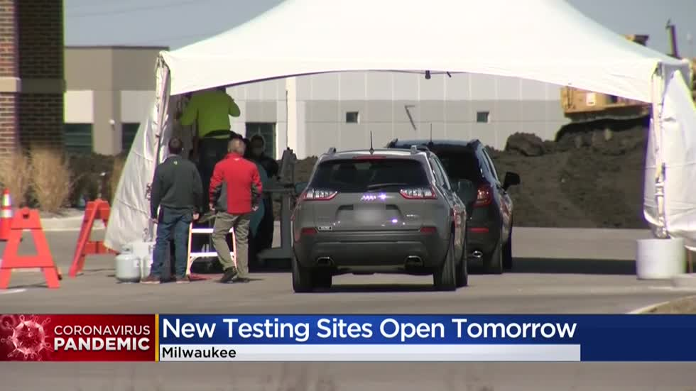 Two free COVID-19 testing sites to open in Milwaukee on Monday