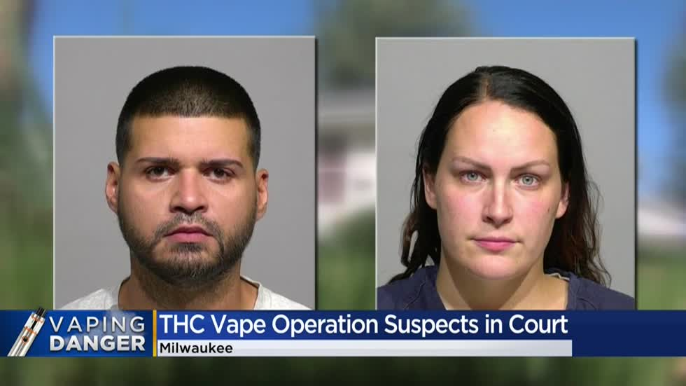 Suspects in Milwaukee THC vape operation waive preliminary hearings
