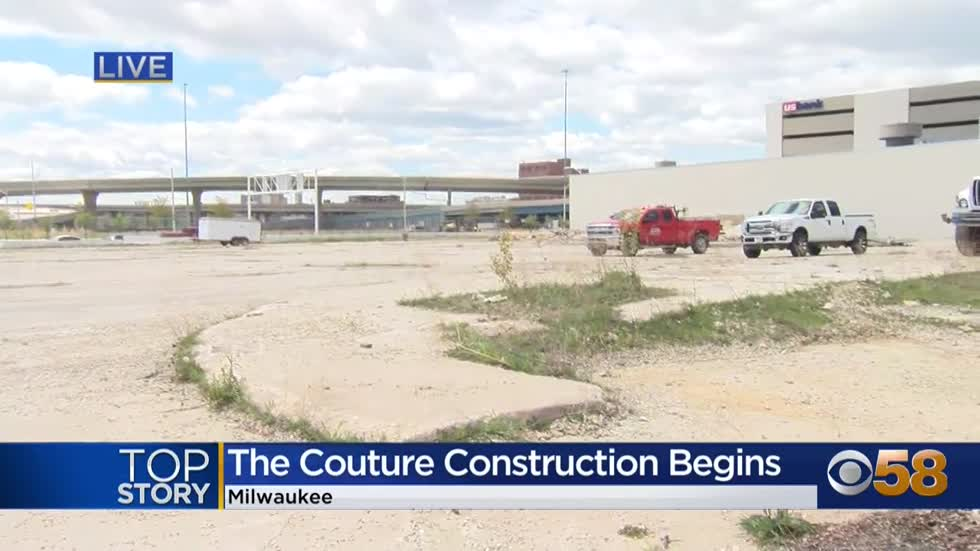 Construction begins on The Couture, Milwaukee's newest skyscraper