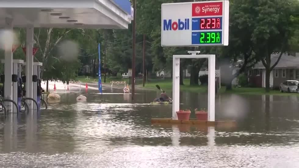 One year ago: Burlington flooding and the weather conditions that caused it