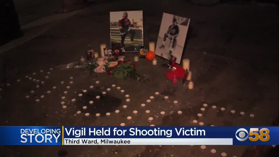 'I will love him forever': Family, friends hold vigil for Third Ward shooting victim